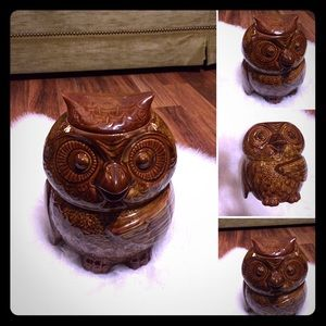 Vintage 50s Owl 🦉 Cookie Jar